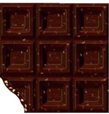 食べ応えのあるチョコレート